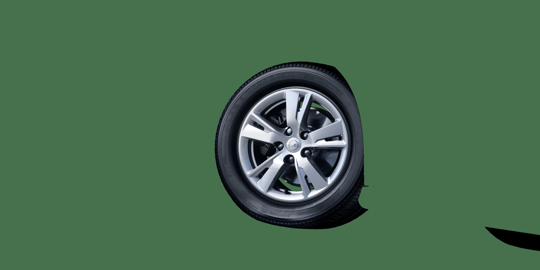 """7,0 J x 16 16""""-Leichtmetallräder (5 Doppelspeichen)"""