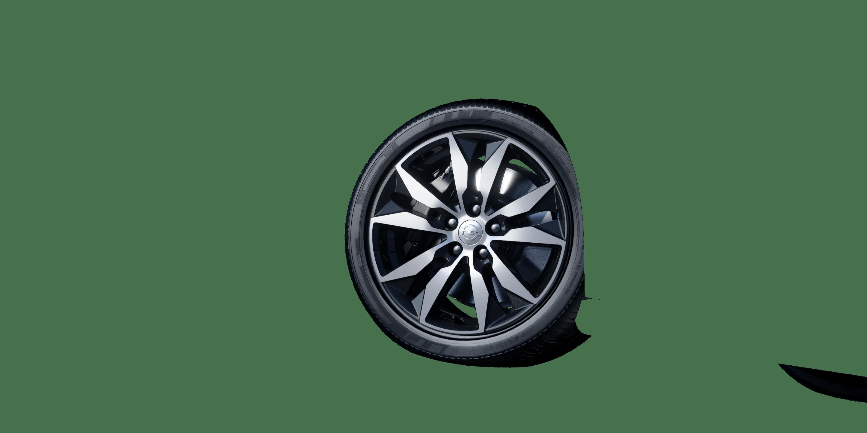"""8,5 J x 18 18""""-Leichtmetallräder in BiColor (5 Doppelspeichen)"""