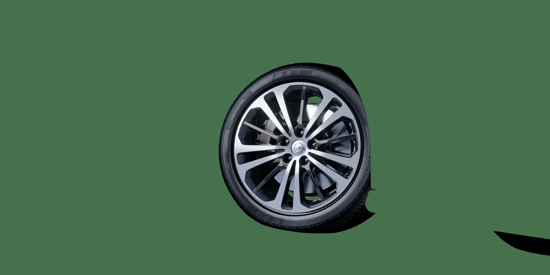 """8,5 J x 18 18""""-Leichtmetallräder in BiColor (15 Speichen)"""