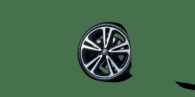 """8,5 J x 20 20""""-Leichtmetallräder in BiColor (5 Doppelspeichen)"""