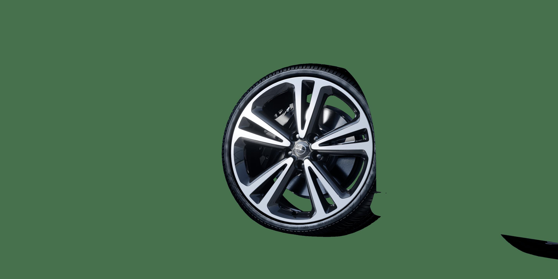 """8,5 J x 20 20""""-Leichtmetallräder in BiColor Technical Grey (5 Doppelspeichen)"""