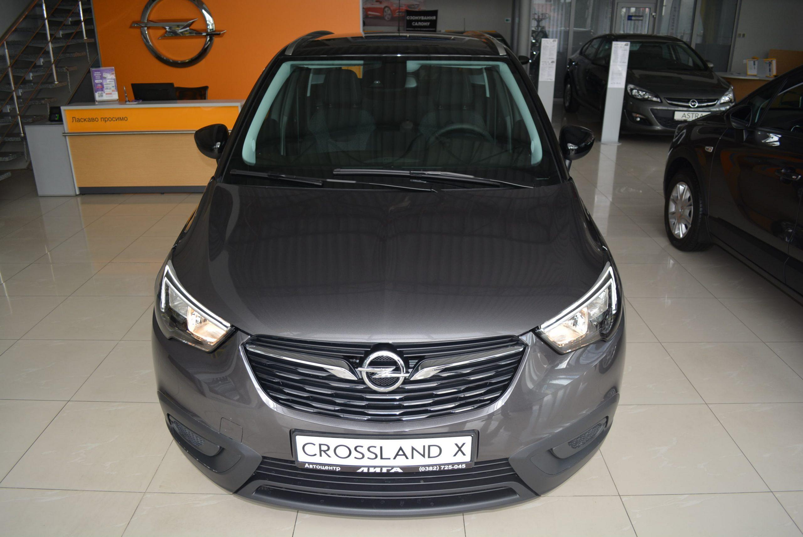 Opel Crossland-X 1.2 5-МТ Enjoy