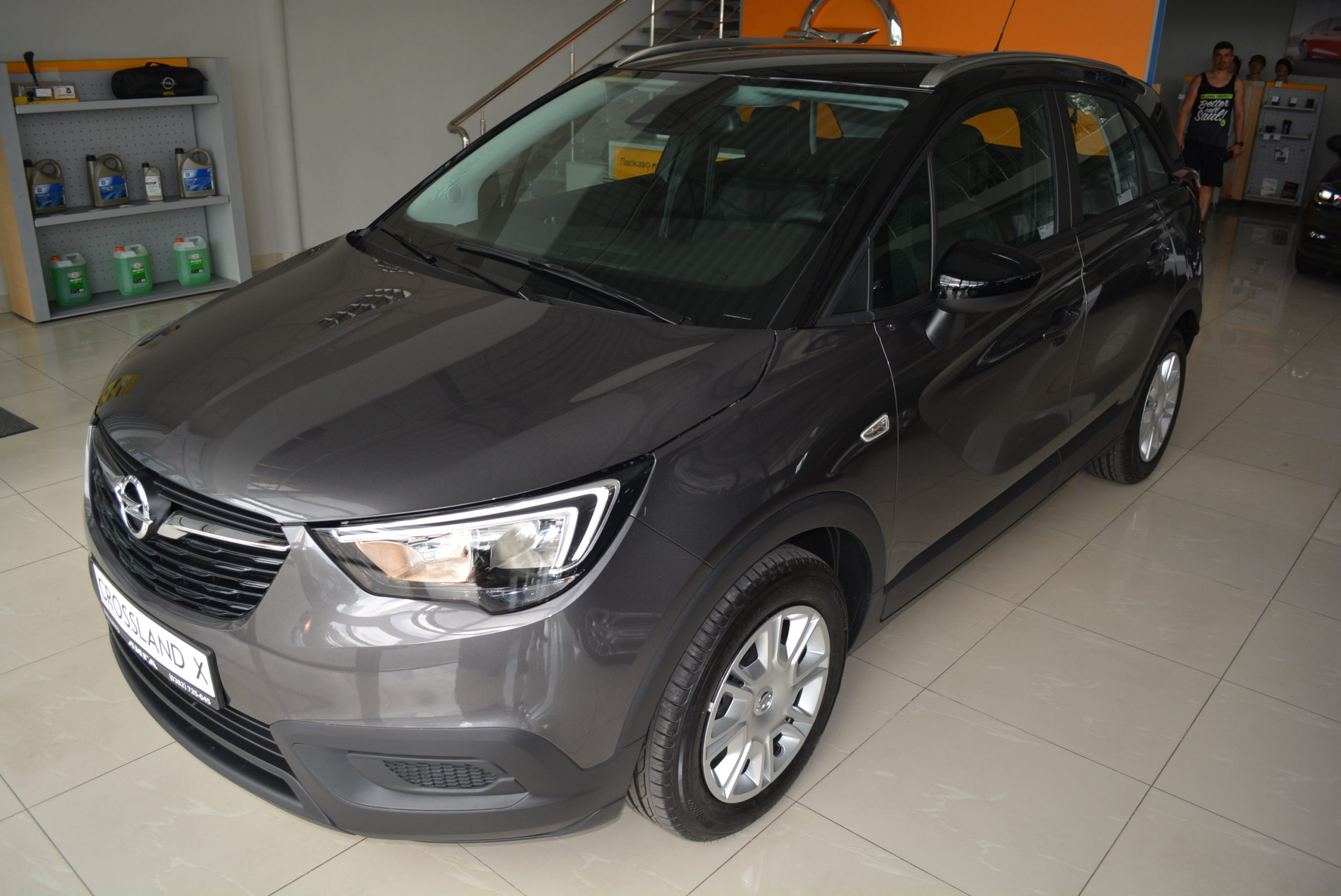 OPEL CROSSLAND X Direct Injection 1,2 82 к.с МКПП