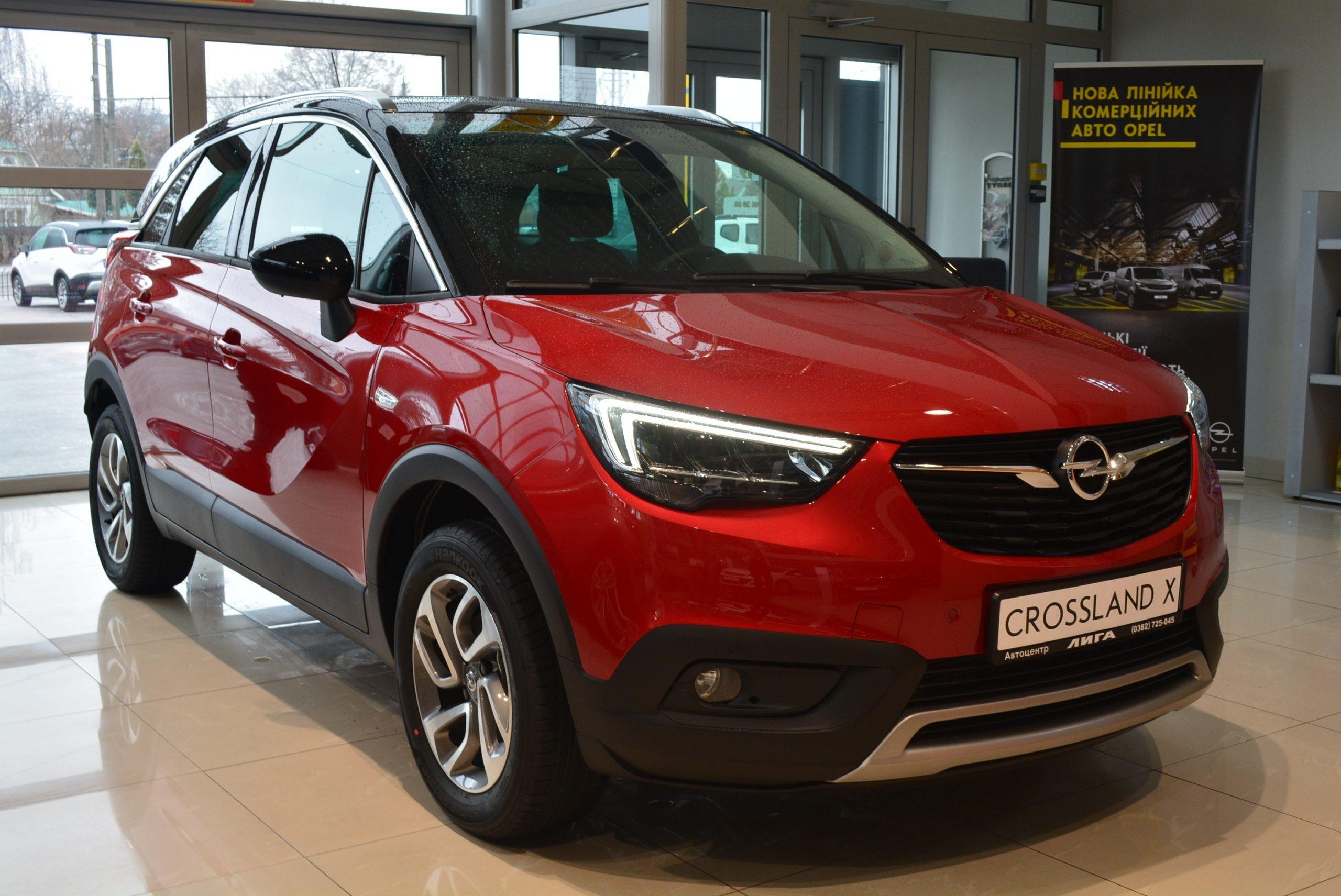 Opel Crossland-X 1.2 AT Innovation